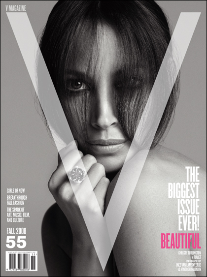 V Magazine 55 fall 2008 Christy Turlington cover