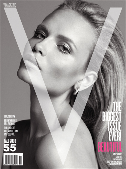 V Magazine 55 fall 2008 Natasha Poly cover