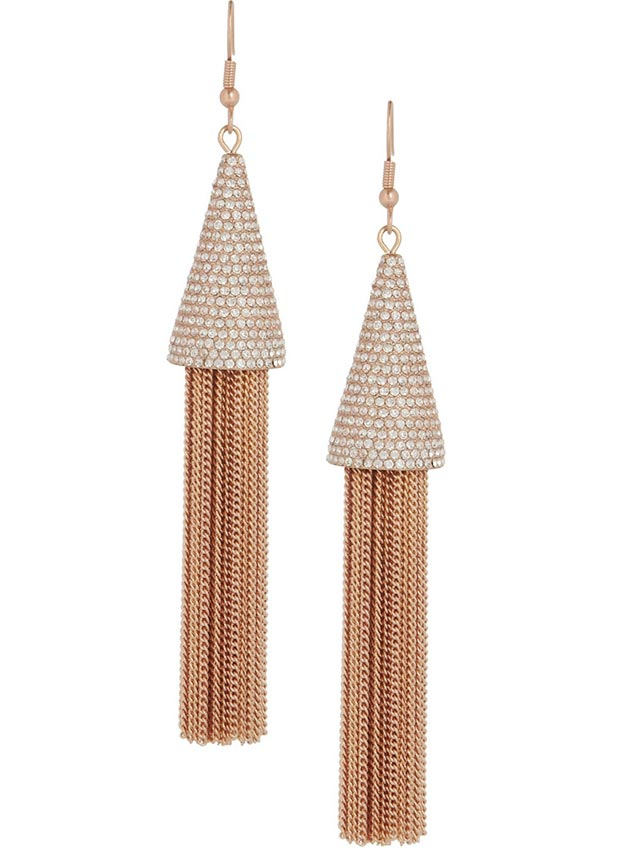 Valentine s day gifts ideas pink gold earrings