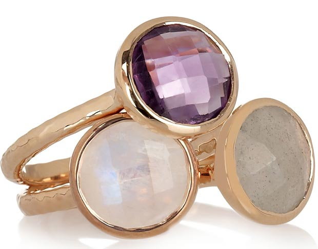 Valentine s day gifts ideas pink gold ring with stones