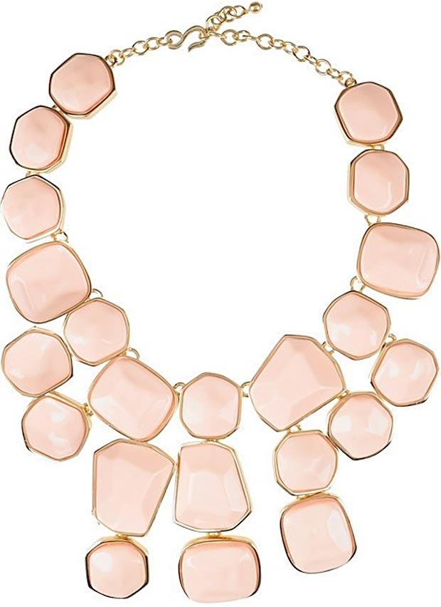 Valentine s day gifts ideas pink necklace