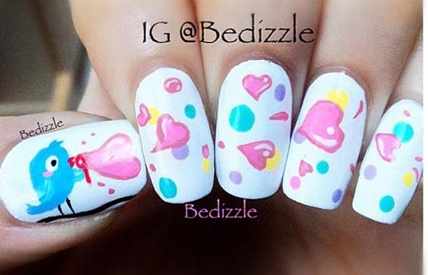 Valentines day most beautiful nails