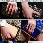 Valentino Fall 2013 Dutch collection clutches