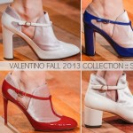 Valentino Fall 2013 Dutch collection shoes