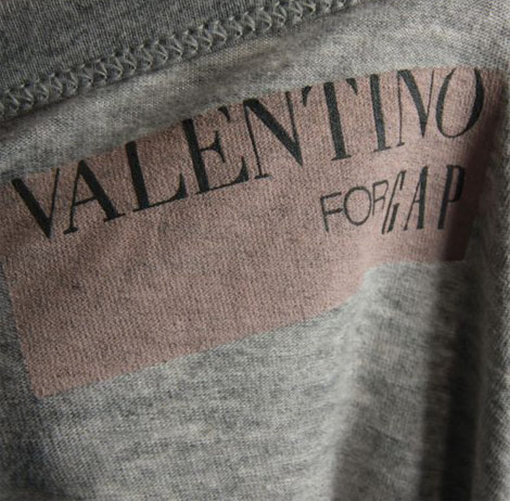 Valentino For Gap Bow Top
