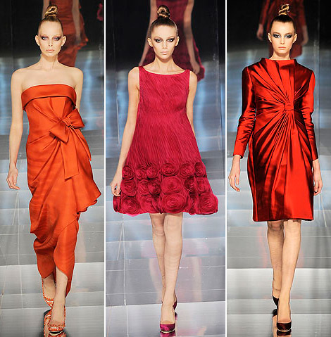 Valentino Haute Couture Spring 09 red