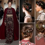 valentino haute couture spring 2015 hair accessories diy