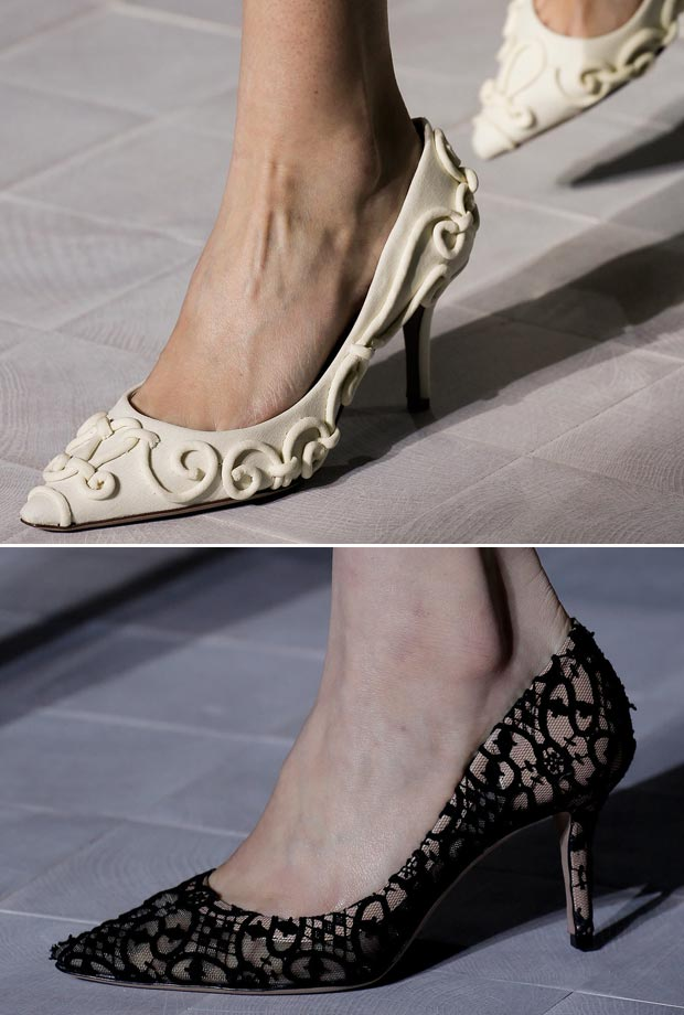 Valentino Spring 2013 Couture shoes