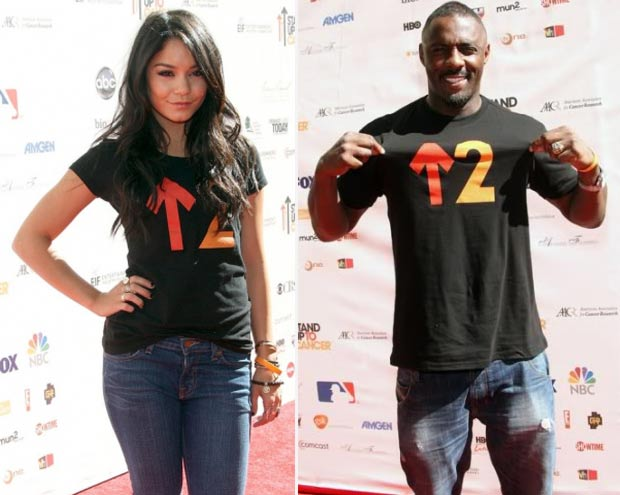 Vanessa Hudgens Idris Elba Stand Up To Cancer