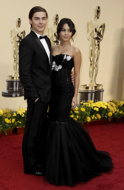 vanessa hudgens marchesa dress oscars 2009 2