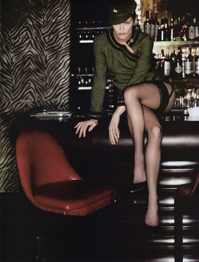 Vanessa Paradis by Karl Lagerfeld Vogue Paris 1