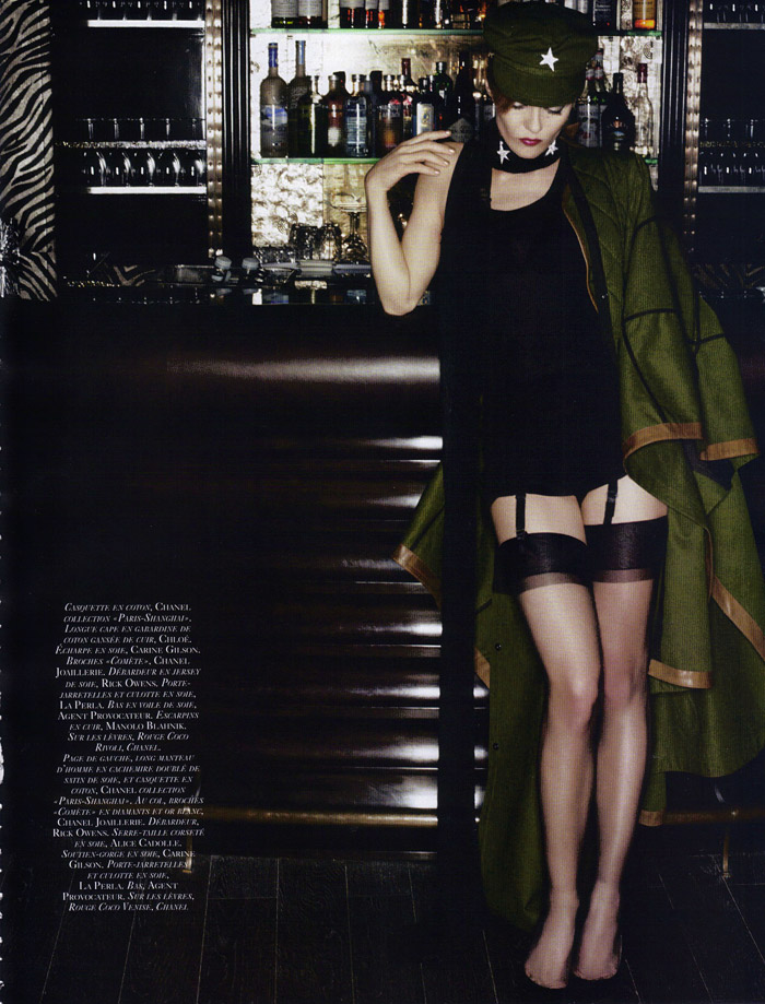 Vanessa Paradis by Karl Lagerfeld Vogue Paris 2