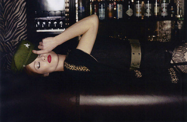 Vanessa Paradis by Karl Lagerfeld Vogue Paris 3
