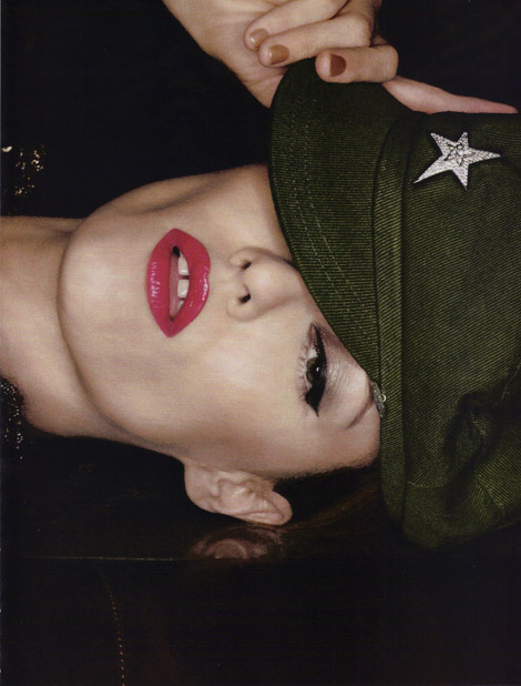 Vanessa Paradis by Karl Lagerfeld Vogue Paris