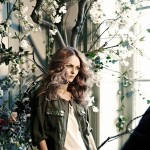 Vanessa Paradis H M Conscious Collection 2013