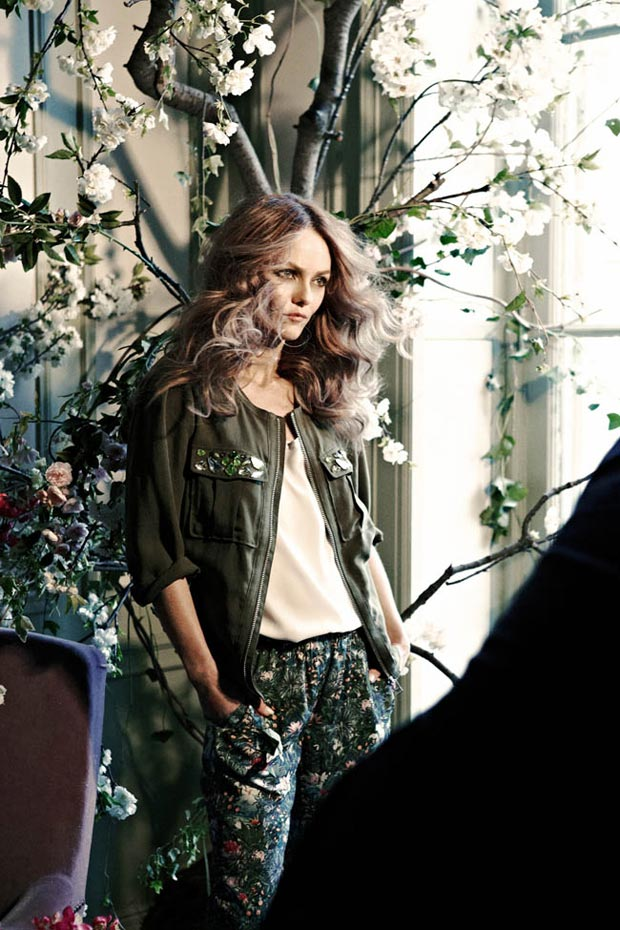 Vanessa Paradis Fashion Consciousness With H&M