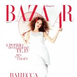 Vanessa Paradis Harper s Bazaar Russia April 2013 cover