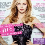Vanessa Paradis Marie Claire December 2009 cover