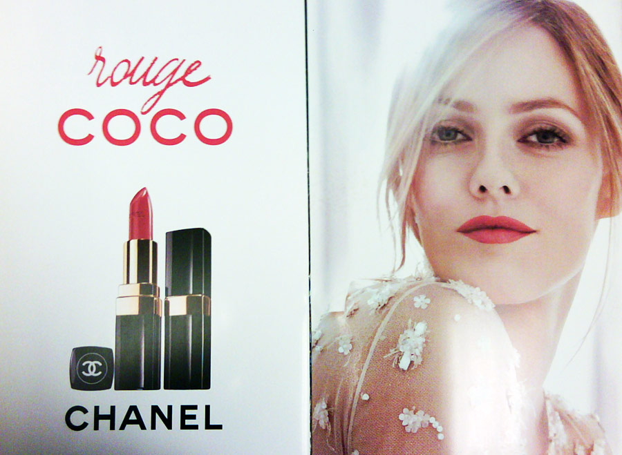 Vanessa Paradis Rouge Coco ad campaign large