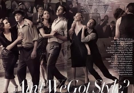 Vanity Fair August Thirties movies Krasinski