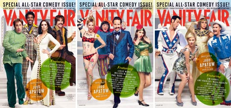 Must Have: Vanity Fair January 2013 All Star Comedy Issue