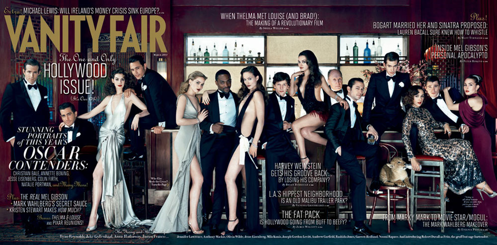 Vanity Fair's Young Hollywood Issue, March 2011