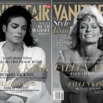 Vanity Fair September 2009 Michael Jackson Farrah Fawcett cover