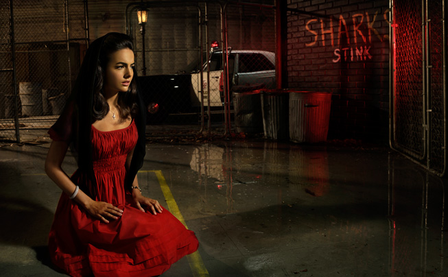 Vanity Fair West Side Story Camilla Belle mourning