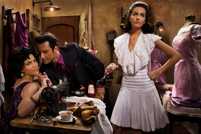 Vanity Fair West Side Story sewing Lopez Camilla