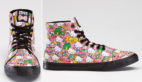Vans Hello Kitty Sneakers. For Kids And More