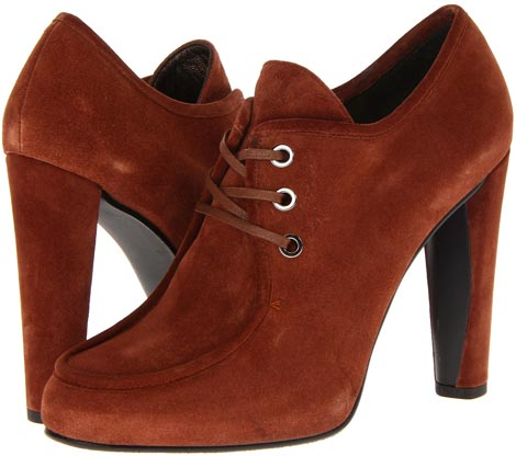 Fall Boots You Need: Red Velour Booties
