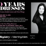 Vera Wang 20 years Bloomingdale s exhibition