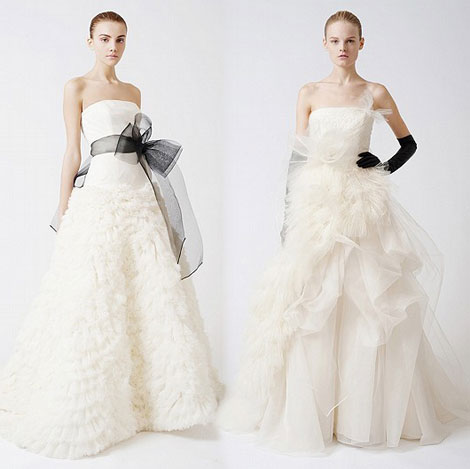 Vera Wang bridal collection Fall 2010