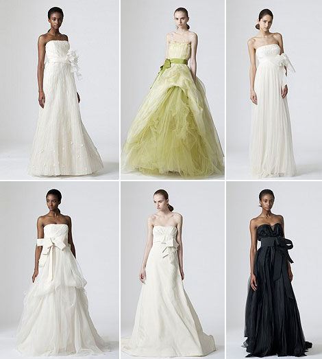 Vera Wang bridal collection Spring 2010