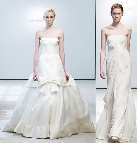 Vera Wang bridal collection Spring Summer 2009