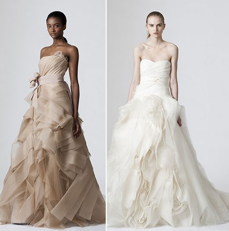 Vera Wang bridal collection Spring Summer 2010