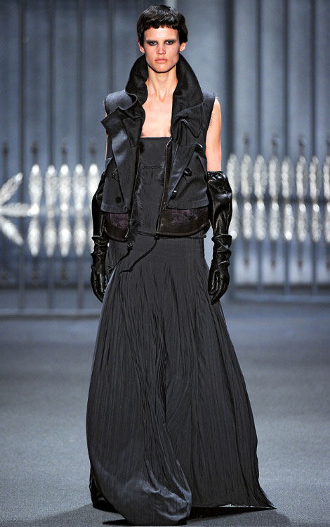 Vera Wang fall winter 2011 2012 collection Saskia de Brauw