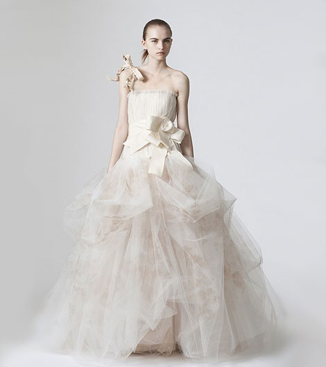 Vera Wang wedding dress Spring 2010