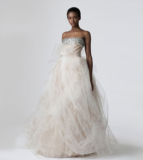 Vera Wang wedding dress Spring Summer 2010