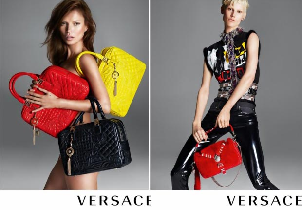 Kate Moss Turns Back Time In New Versace Ad Campaign