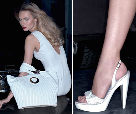 The Versace Shoes And Bags For Spring Summer 2009