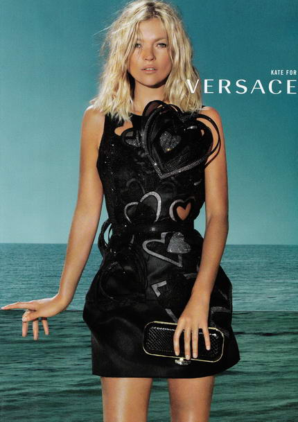 Kate Moss And Gisele B 252 Ndchen For Versace Spring Summer