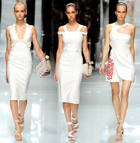 Versace Spring Summer 2011 Collection