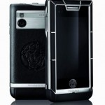 Versace Unique LG mobile phone black