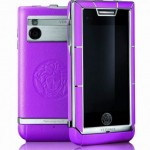 Versace Unique LG mobile phone purple