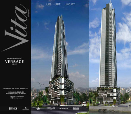 Versace Goes Real Estate With Vita Tower Panama