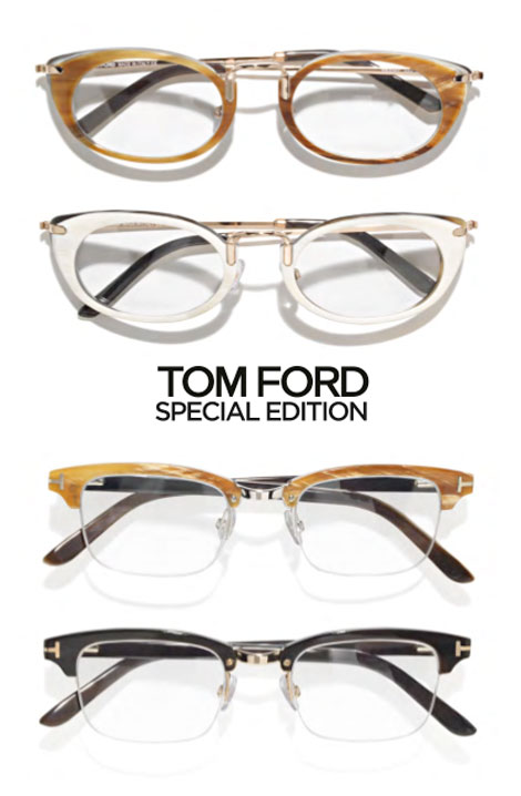 Really Expensive Eyewear: Tom Ford Special Edition