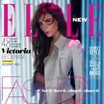 Victoria Beckham Elle UK March 2013 cover