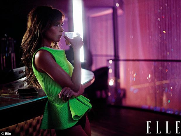 Victoria Beckham Elle UK March 2013
