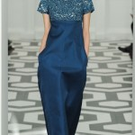 Victoria Beckham Fall Winter 2011 2012 blue